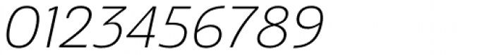 Ashemore Normal Light Italic Font OTHER CHARS