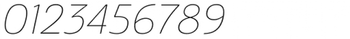 Ashemore Normal Thin Italic Font OTHER CHARS