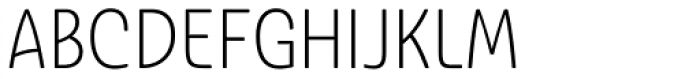 Ashemore Softened Condensed Light Font UPPERCASE