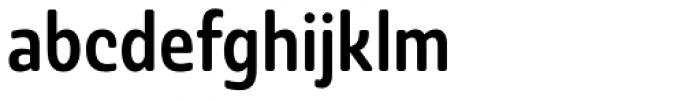 Ashemore Softened Condensed Medium Font LOWERCASE