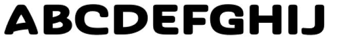 Ashemore Softened Ext Black Font UPPERCASE