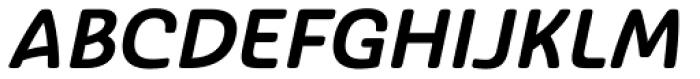 Ashemore Softened Normal Bold Italic Font UPPERCASE