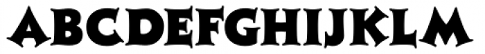 Ashley Crawford ICG Font UPPERCASE