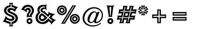 Ashley Inline Std Regular Font OTHER CHARS
