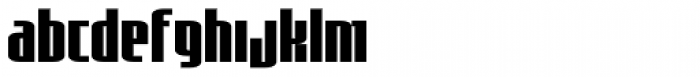Asimov Sans Font LOWERCASE
