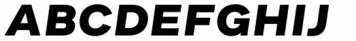 Asket Extended Extra Bold Italic Font UPPERCASE