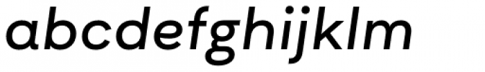 Asket Extended Italic Font LOWERCASE