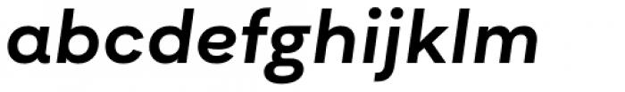 Asket Extended Medium Italic Font LOWERCASE
