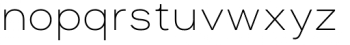 Asket Extended Thin Font LOWERCASE