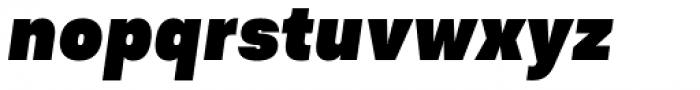 Asket Narrow Black Italic Font LOWERCASE