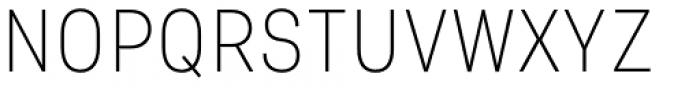 Asket Narrow Thin Font UPPERCASE