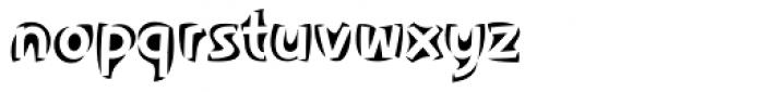 Aspect Font LOWERCASE