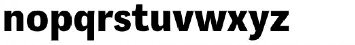 Aspen Extrabold Font LOWERCASE