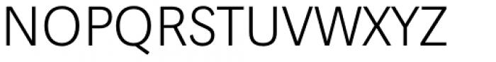 Aspen Extralight Font UPPERCASE