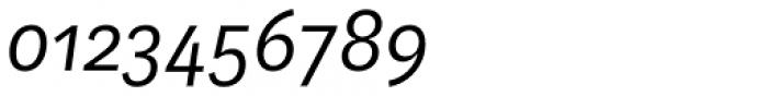 Aspen Light Italic Font OTHER CHARS