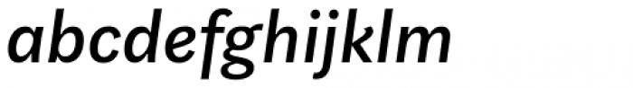 Aspen Medium Italic Font LOWERCASE