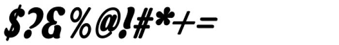 Asphalt Bold Font OTHER CHARS