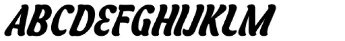Asphalt Bold Font UPPERCASE