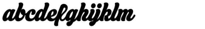Asphalt Bold Font LOWERCASE