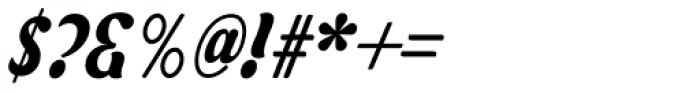 Asphalt Medium Font OTHER CHARS