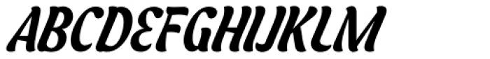 Asphalt Medium Font UPPERCASE