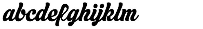 Asphalt Medium Font LOWERCASE