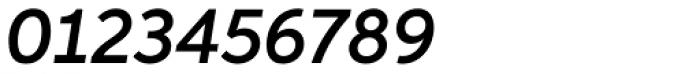 Aspira Demi Italic Font OTHER CHARS