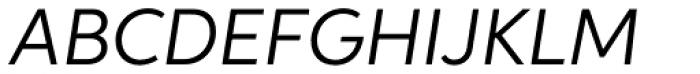 Aspira Italic Font UPPERCASE