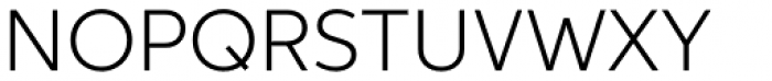 Aspira Light Font UPPERCASE