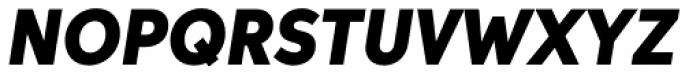Aspira Nar Black Italic Font UPPERCASE