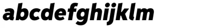 Aspira Nar Black Italic Font LOWERCASE