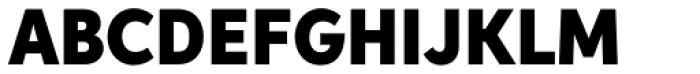 Aspira Nar Black Font UPPERCASE