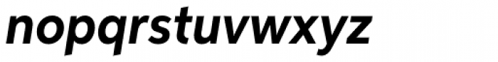 Aspira Nar Bold Italic Font LOWERCASE