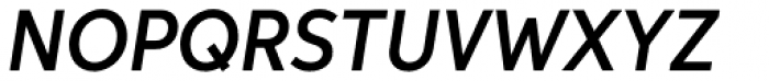 Aspira Nar Demi Italic Font UPPERCASE