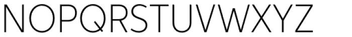 Aspira Nar Thin Font UPPERCASE