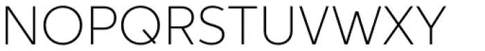 Aspira Thin Font UPPERCASE
