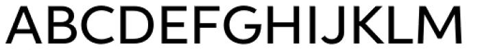 Aspira Wide Medium Font UPPERCASE