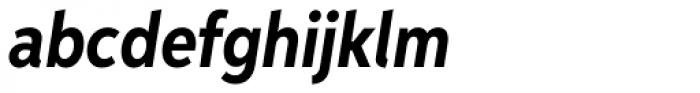 Aspira XNar Bold Italic Font LOWERCASE