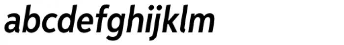 Aspira XNar Demi Italic Font LOWERCASE
