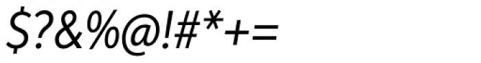 Aspira XNar Italic Font OTHER CHARS