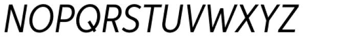 Aspira XNar Italic Font UPPERCASE