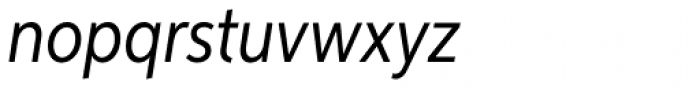 Aspira XNar Italic Font LOWERCASE
