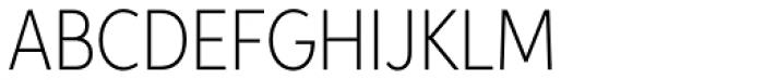 Aspira XNar Thin Font UPPERCASE