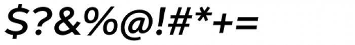 Aspira XWide Demi Italic Font OTHER CHARS