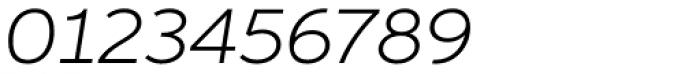 Aspira XWide Light Italic Font OTHER CHARS
