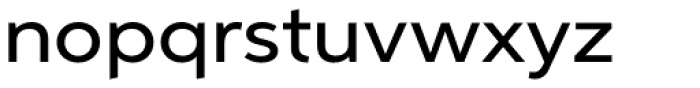 Aspira XWide Medium Font LOWERCASE
