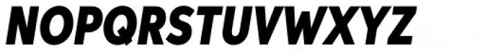 Aspira XXNar Black Italic Font UPPERCASE