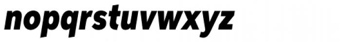 Aspira XXNar Black Italic Font LOWERCASE