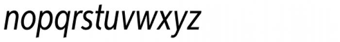 Aspira XXNar Italic Font LOWERCASE