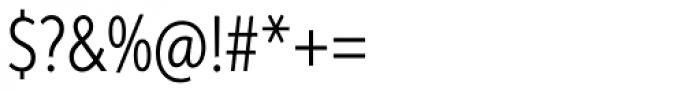 Aspira XXNar Light Font OTHER CHARS
